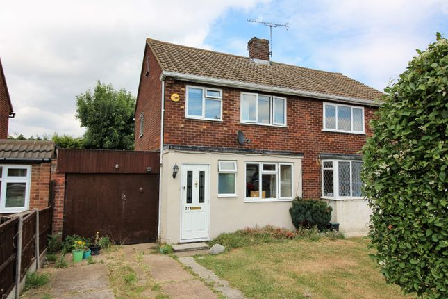 Thumbnail Semi-detached house for sale in Dorothy Gardens, Benfleet