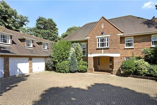 Thumbnail Detached house for sale in Bowater Ridge, St George's Hill, Weybridge, Surrey