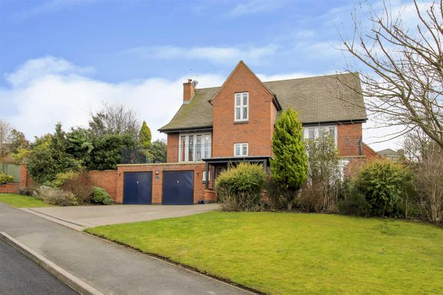 Thumbnail Detached house for sale in Coppicewood Drive, Littleover, Derby