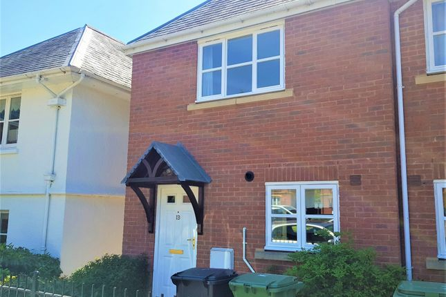 Thumbnail End terrace house to rent in Fleming Way, St. Leonards, Exeter