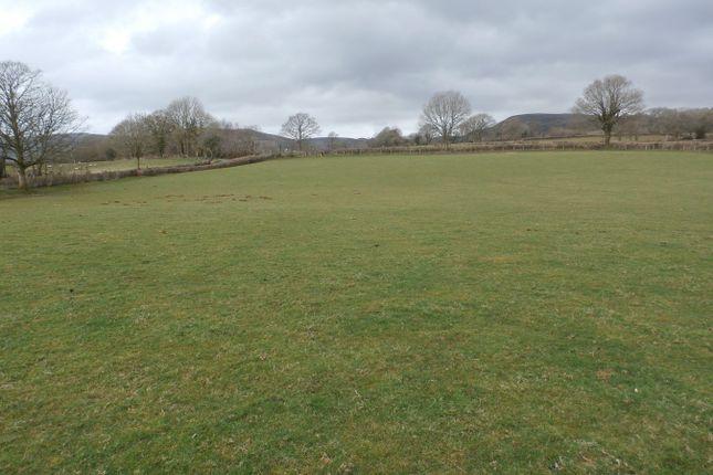 Thumbnail Land for sale in Cilycwm, Llandovery