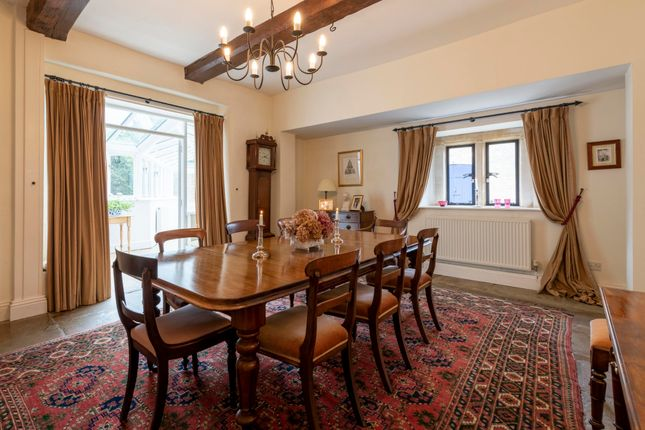 Dining Room With Flagstones