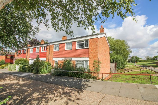 Thumbnail End terrace house for sale in Radburn Close, Harlow