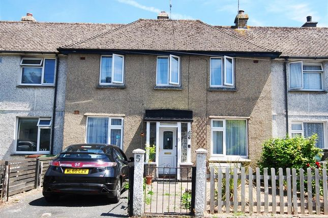 Thumbnail Terraced house for sale in Lower Peverell Road, Penzance
