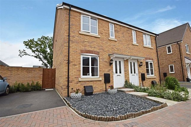 Thumbnail Semi-detached house for sale in Oswald Drive, Longford, Gloucester