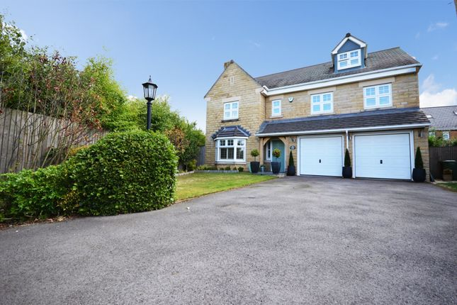 Thumbnail Detached house for sale in Gresford Close, Woolley Grange, Barnsley