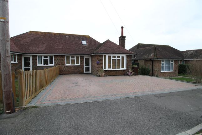 Thumbnail Semi-detached bungalow to rent in Danecourt Close, Bexhill-On-Sea