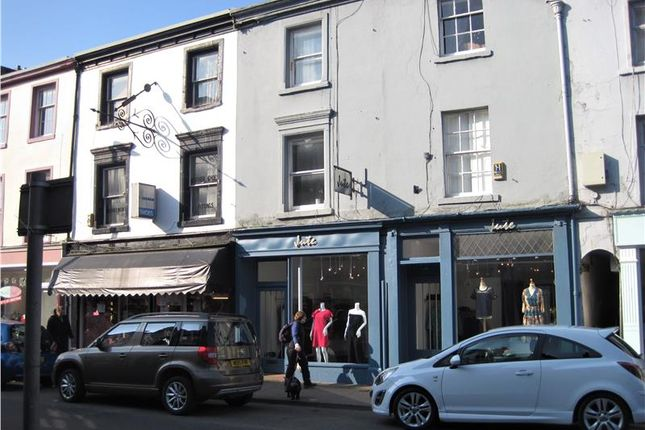 Thumbnail Commercial property for sale in King Street, Ulverston, Cumbria, 7Dz