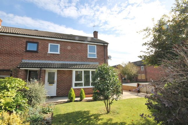 Thumbnail Semi-detached house for sale in Swain Court, Northallerton