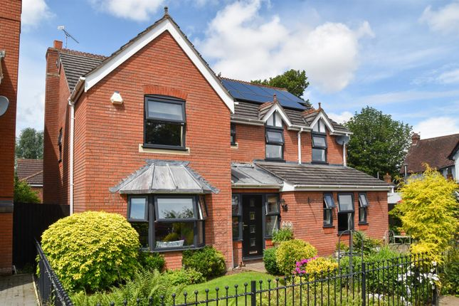 Thumbnail Detached house for sale in Medley Grove, Whitnash, Leamington Spa