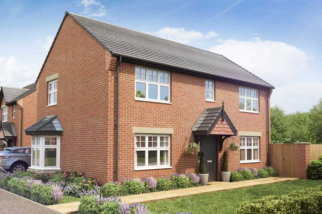 "Thumbnail Detached house for sale in ""The Thames"" at Hill Road South, Penwortham, Lancashire, Penwortham"