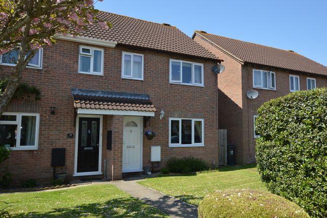 Thumbnail Semi-detached house for sale in Wellesley Close, Bowerhill, Melksham
