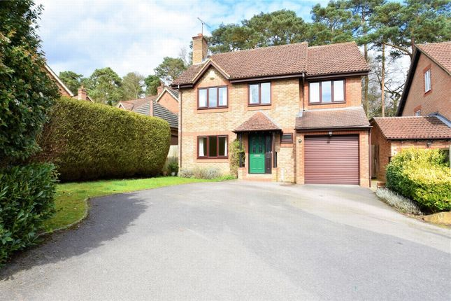 Thumbnail Detached house for sale in Knights Way, Camberley, Surrey