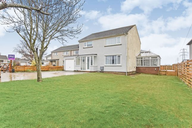 Thumbnail Detached house for sale in Station Crescent, Beckermet