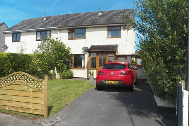 3 bed semi-detached house for sale in Is-Y-Llan, Llanddarog, Carmarthen