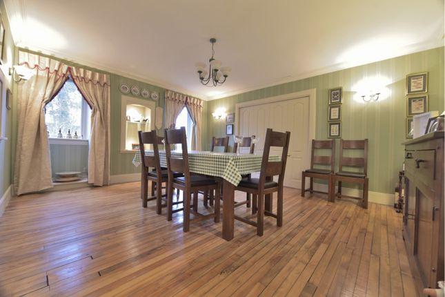 Dining Room of Upper Kinneddar, Saline, Dunfermline KY12