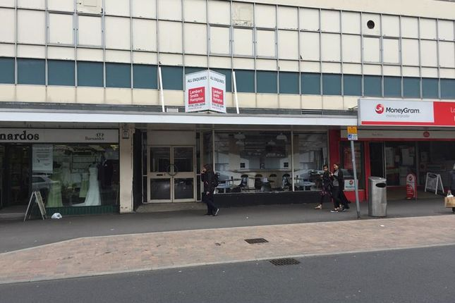 Thumbnail Retail premises to let in 8 -13 High Street, Loughborough, Leicestershire