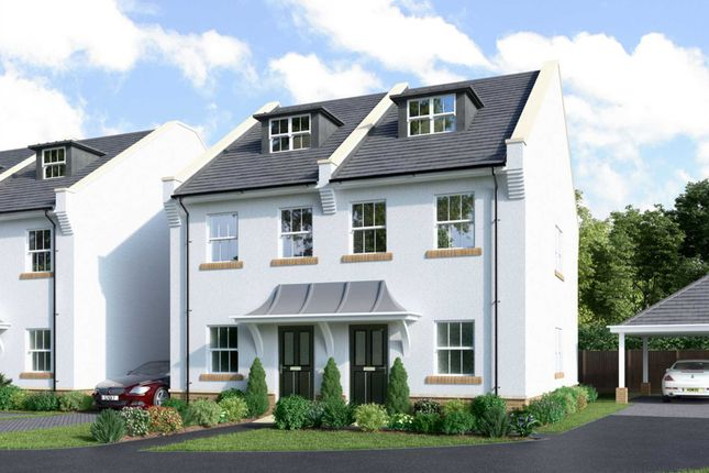 Thumbnail Semi-detached house for sale in Middleton Place, Poole