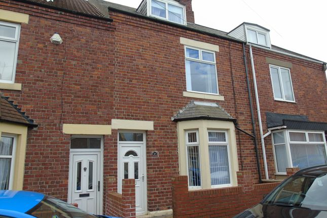 Thumbnail Terraced house to rent in Seaton Avenue, Newbiggin-By-The-Sea