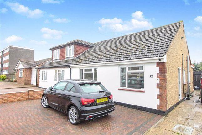 2 bed semi-detached bungalow to rent in Eversley Road, Benfleet, Essex SS7