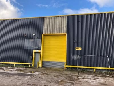 Thumbnail Light industrial to let in Unit 12 Withey Dyffryn Court, Duffyn Industrial Estate, Ystrad Mynach