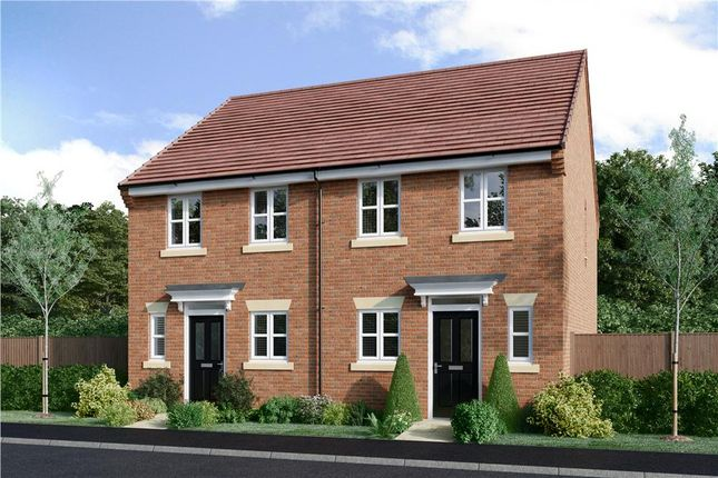 "Thumbnail Semi-detached house for sale in ""Beckford"" at Fleckney Road, Kibworth, Leicester"