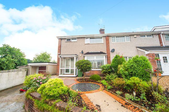 Semi-detached house for sale in Maes Y Rhedyn, Talbot Green, Pontyclun