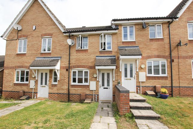 Thumbnail Terraced house for sale in Malt Close, Newmarket