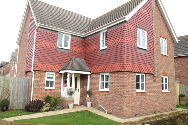 Thumbnail Detached house for sale in Hawkstone Close, Hadnall, Shrewsbury