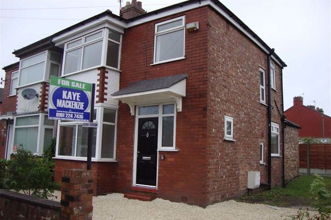 Thumbnail Semi-detached house for sale in Sutcliffe Avenue, Longsight, Manchester
