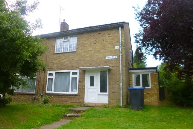Thumbnail End terrace house to rent in Veritys, Hatfield