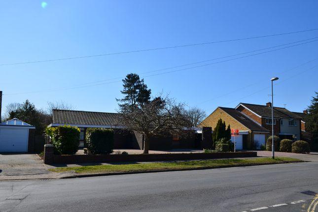 Thumbnail Detached bungalow for sale in Cliff Road, Felixstowe