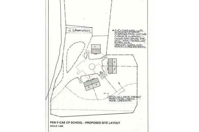 Thumbnail Land for sale in Penycae Junior School - Former, Brecon Road, Penycae, Swansea, Glamorgan, UK