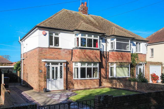 Thumbnail Semi-detached house for sale in Northdown Park Road, Margate