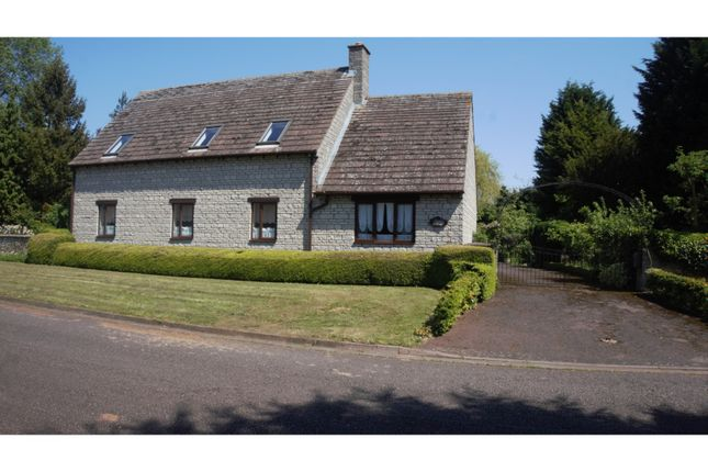 Thumbnail Detached house for sale in Longthorpe Green, Peterborough