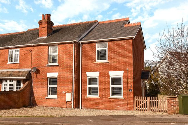 Thumbnail Semi-detached house for sale in The Crescent, Darby Green Road, Blackwater, Camberley