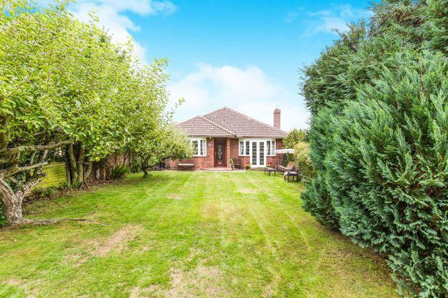 Thumbnail Detached bungalow for sale in Ranvilles Lane, Stubbington, Fareham