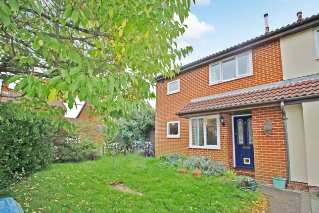 Thumbnail End terrace house to rent in Wild Rose Crescent, Locks Heath, Southampton