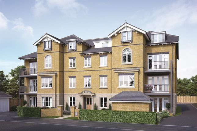 Thumbnail Flat for sale in Cavendish Road, Sutton