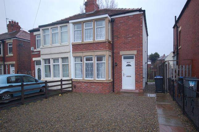 Thumbnail Semi-detached house to rent in Kingscote Drive, Blackpool