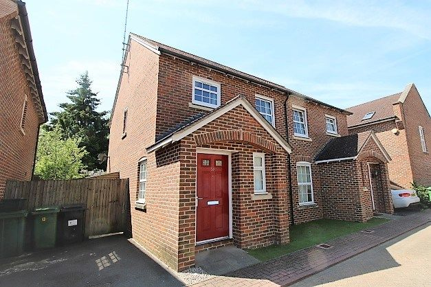 Thumbnail Semi-detached house for sale in Burgate Crescent, Sherfield-On-Loddon, Hook