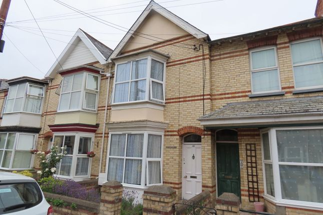Thumbnail Terraced house to rent in Gloster Road, Barnstaple