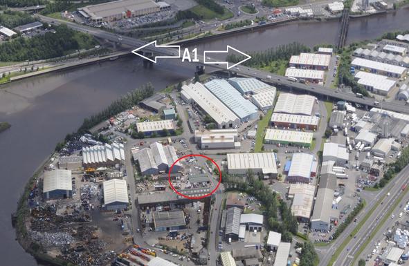 Thumbnail Warehouse for sale in Carlington Court, Patterson Street, Blaydon On Tyne