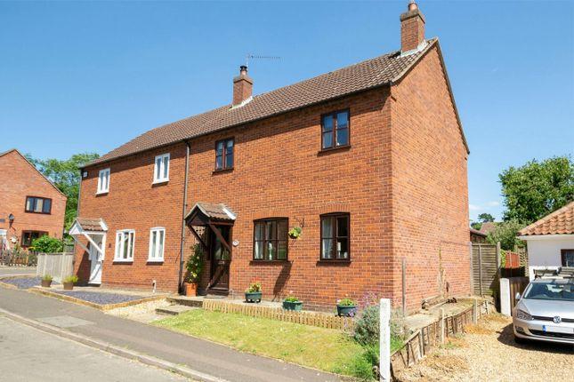 Thumbnail Semi-detached house for sale in Sandy Lane, Fakenham