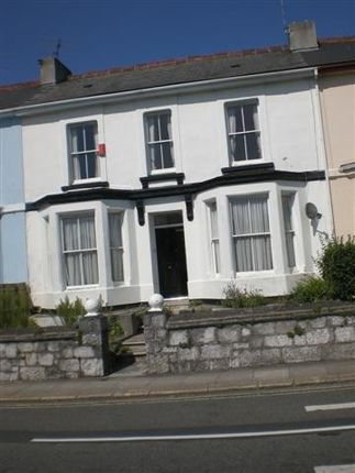 Thumbnail Town house to rent in Hyde Park Road, Mutley, Plymouth