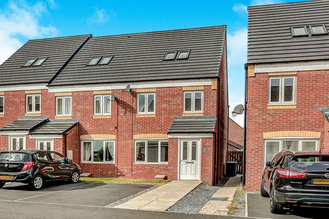 Thumbnail Semi-detached house for sale in Oberon Way, Blyth