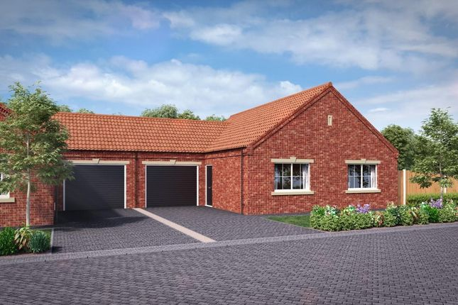 Thumbnail Semi-detached bungalow for sale in West Common Grange, West Common Gardens, Scunthorpe