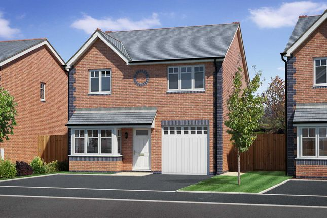 Thumbnail Detached house for sale in Heritage Green, Forden, Welshpool, Powys