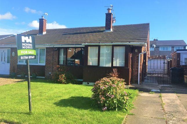 Thumbnail Semi-detached bungalow for sale in Croft Avenue, Burscough, Ormskirk