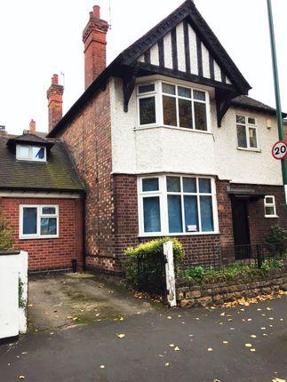 Thumbnail Detached house to rent in Rolleston Drive, Lenton, Nottingham